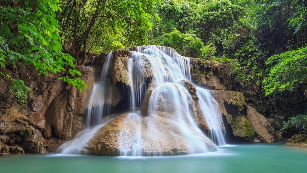 Huay Maekamin Waterfall (Kanchanaburi) wallpaper
