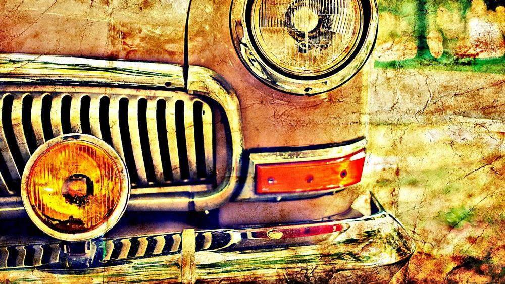 Vintage car wallpaper