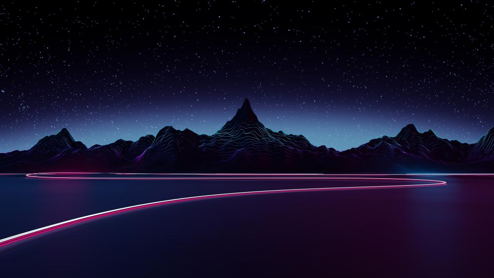 Outrun wallpaper