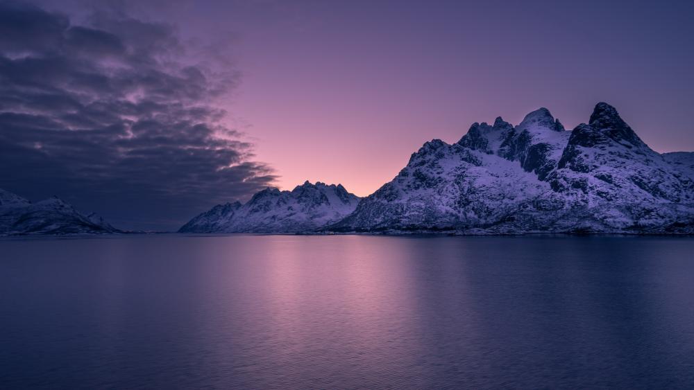Lofoten archipelago wallpaper