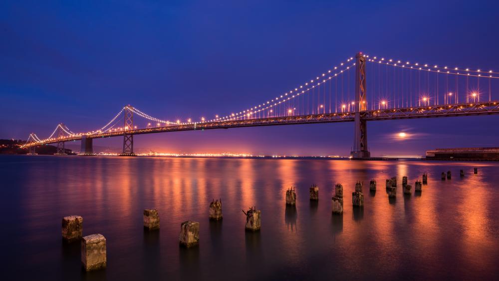 Bay Bridge, San Francisco wallpaper