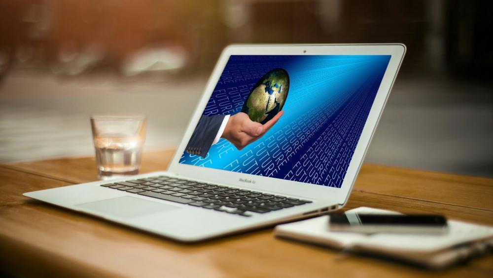 Future laptop wallpaper