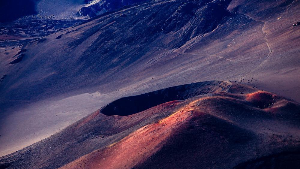 Haleakala Crater (Haleakala National Park) wallpaper