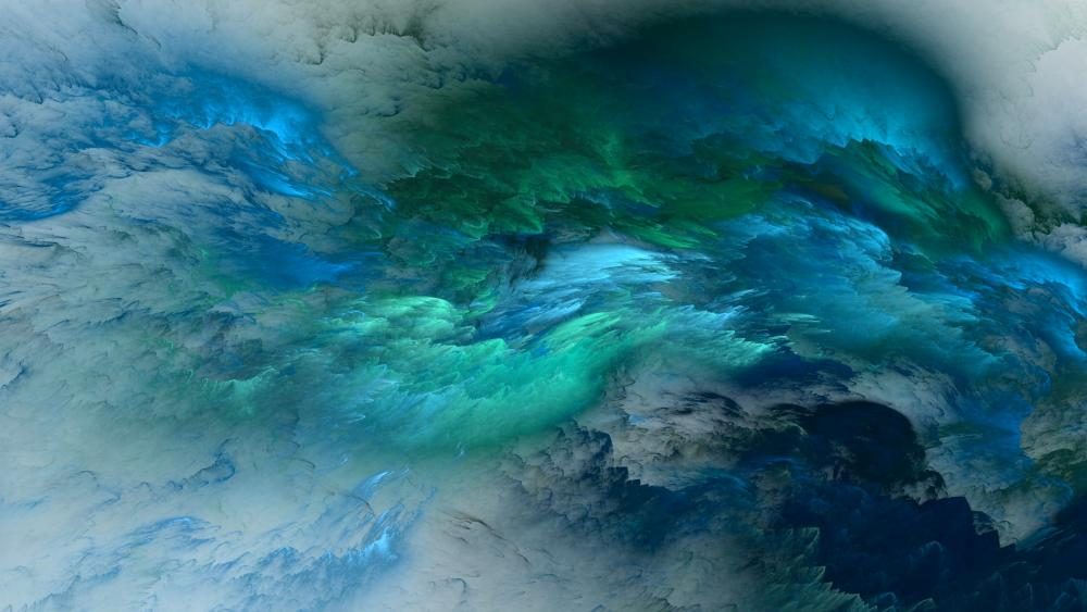 Clouds - Abstract art wallpaper
