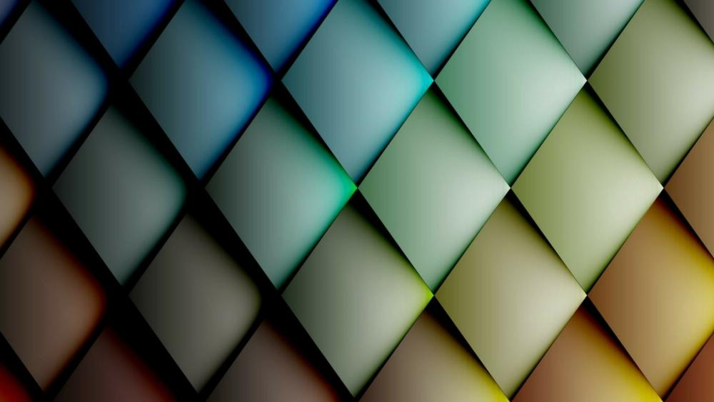 3D pattern wallpaper