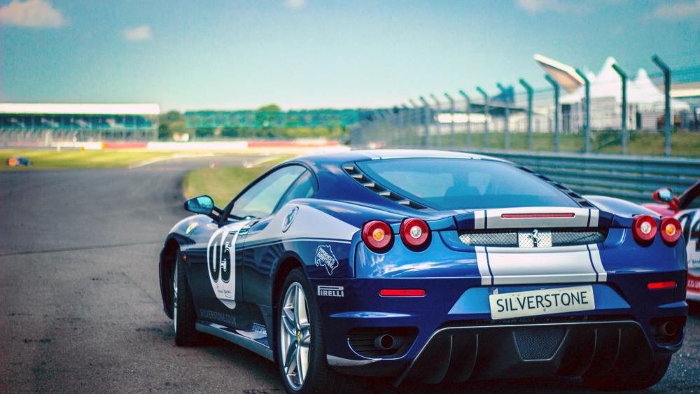 Ferrari Racing Car wallpaper