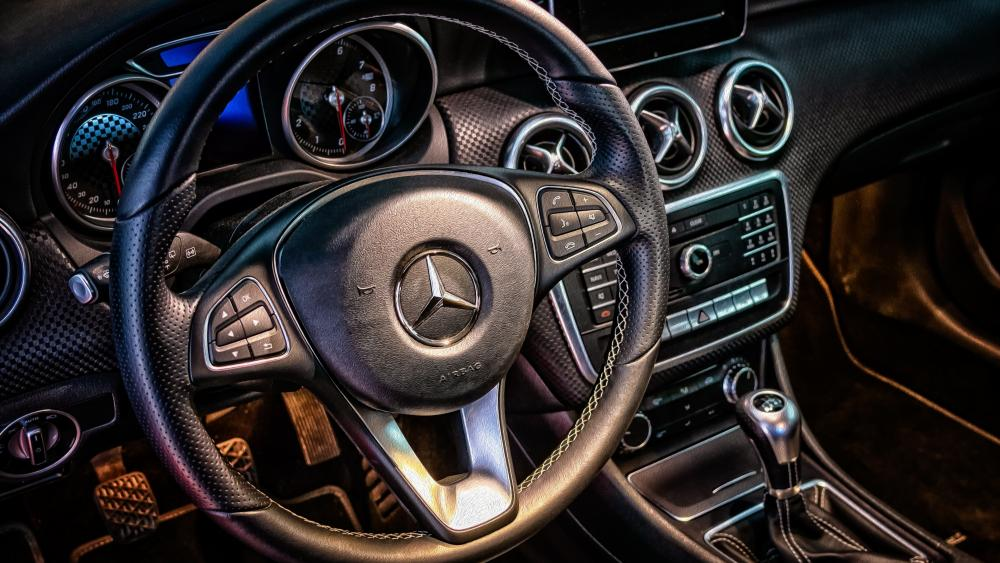 Mercedes cockpit wallpaper