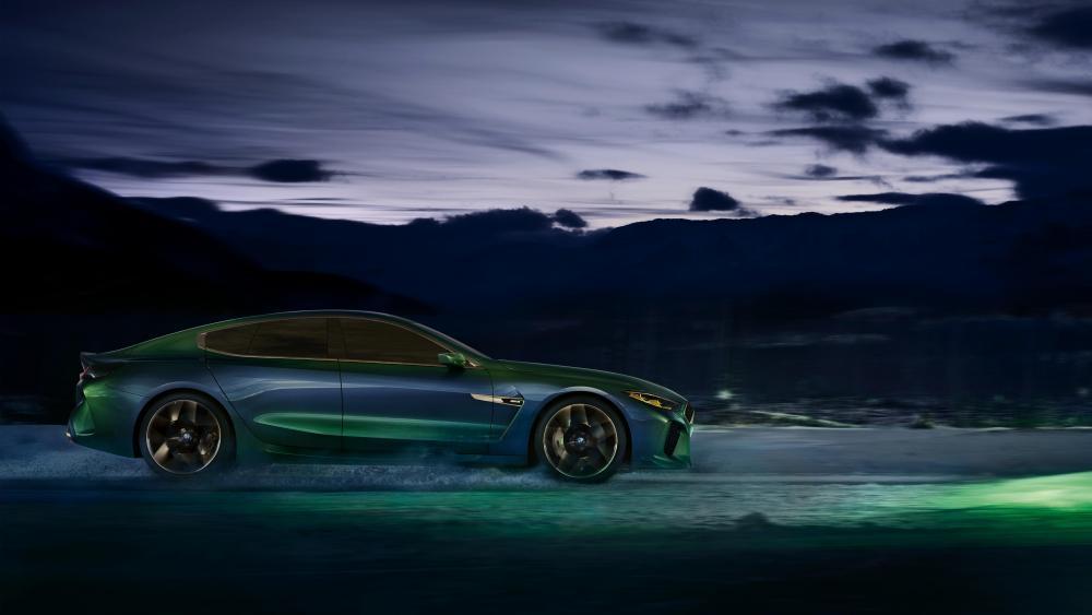 2018 BMW M8 Gran Coupe concept car wallpaper