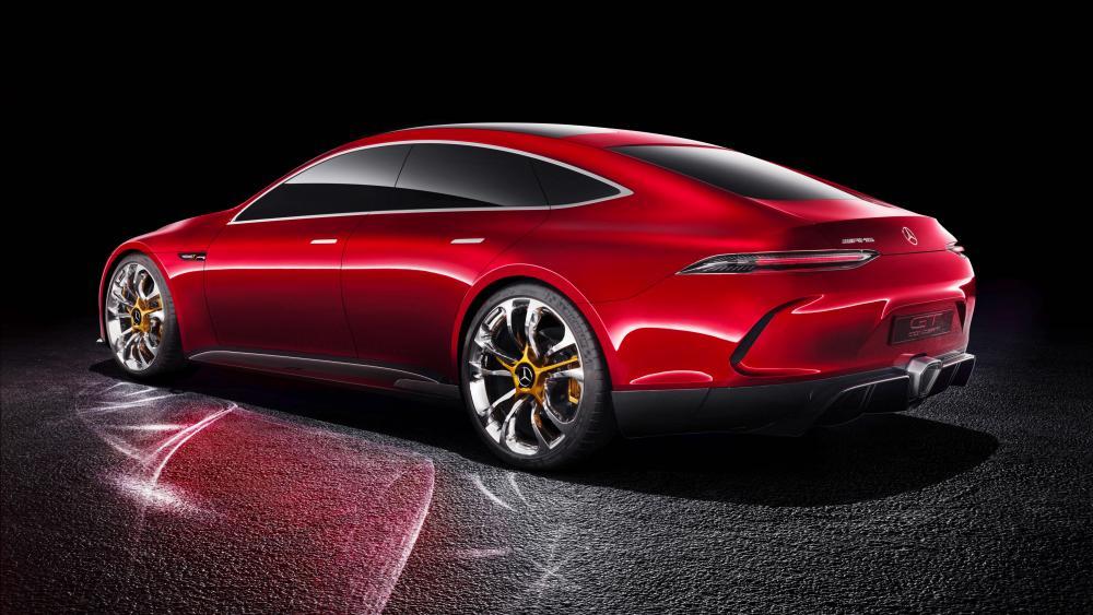 Mercedes AMG GT concept car wallpaper