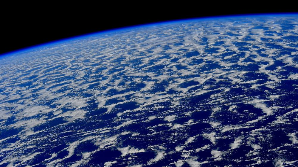 Earth view from space wallpaper