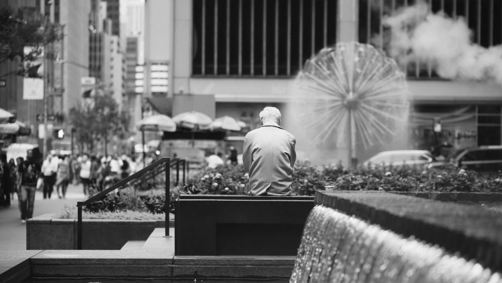 Black and White Photo NYC wallpaper