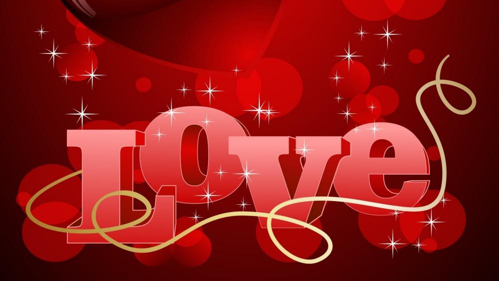 Love title wallpaper