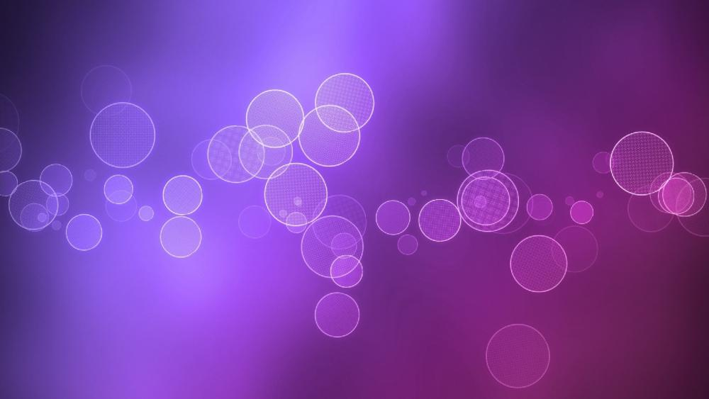 Abstract bubbles wallpaper