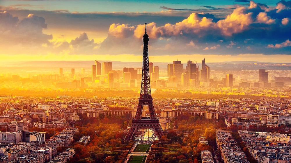 Paris Tour Eiffel wallpaper