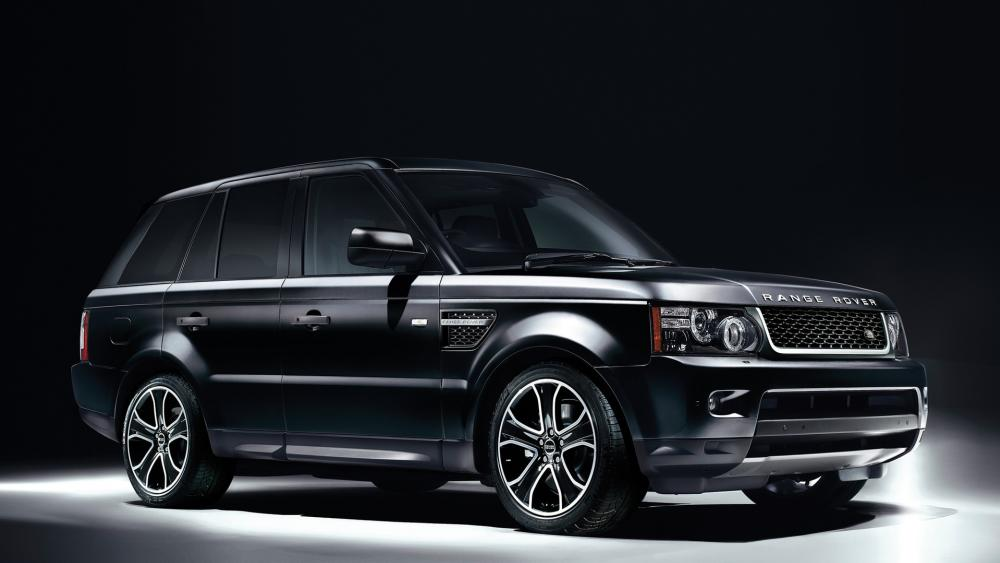 Black Range Rover wallpaper