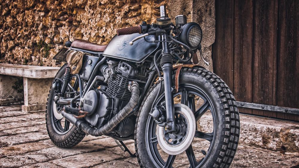 Vintage motorcycle wallpaper