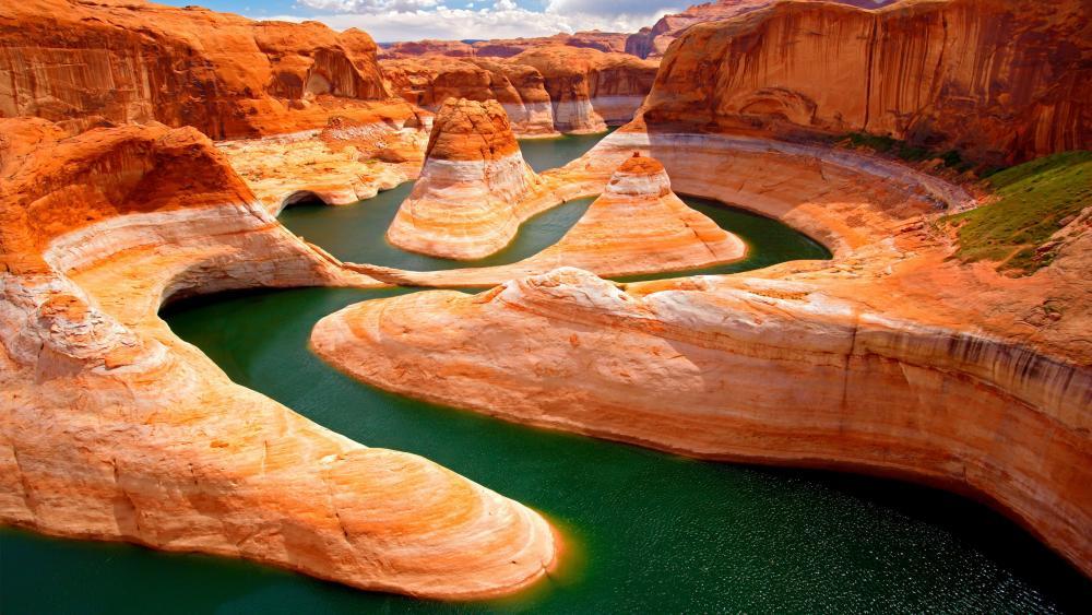 Colorado River in the Grand Canyon wallpaper