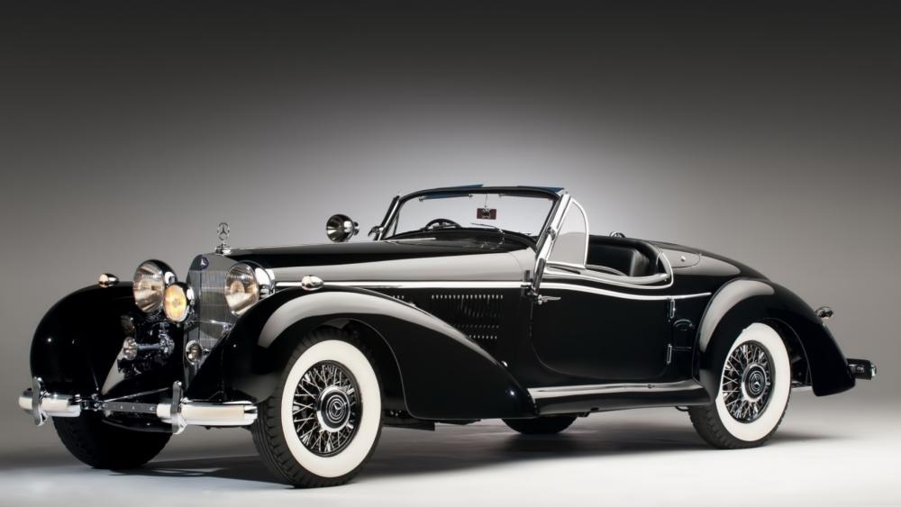 Mercedes classic wallpaper