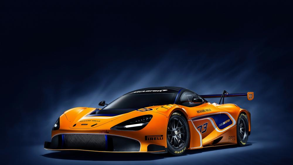 2019 McLaren 720S GT3 HD Wallpaper
