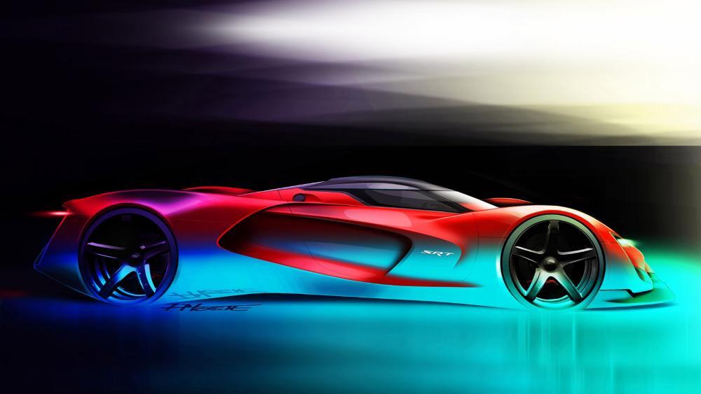2015 Dodge SRT Tomahawk Vision Gran Turismo wallpaper