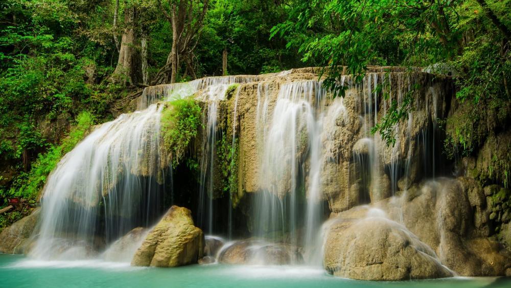Erawan Falls, Erawan National Park wallpaper