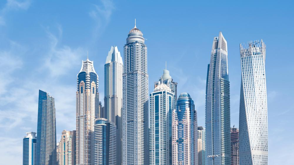 Dubai Skyscrapers wallpaper