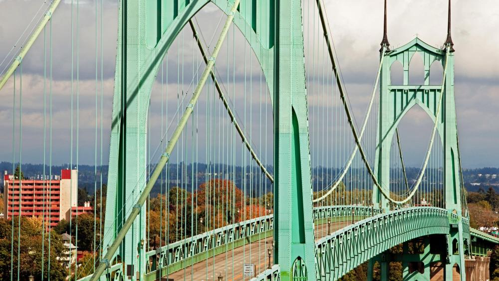 St. Johns Bridge wallpaper
