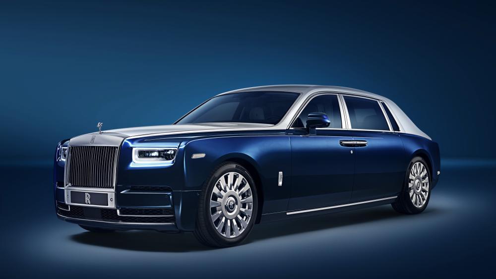 Rolls Royce Phantom EWB Chengdu 2018 wallpaper