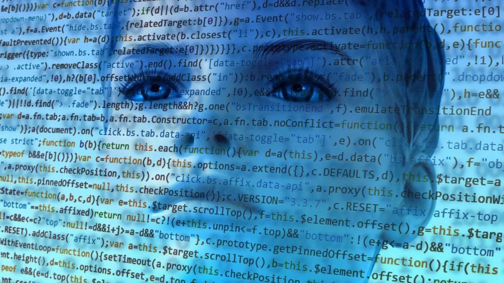 Artificial Intelligence code wallpaper