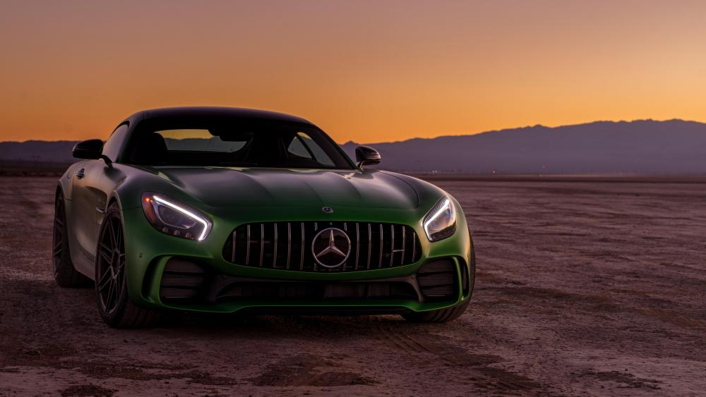 Mercedes AMG GTR wallpaper