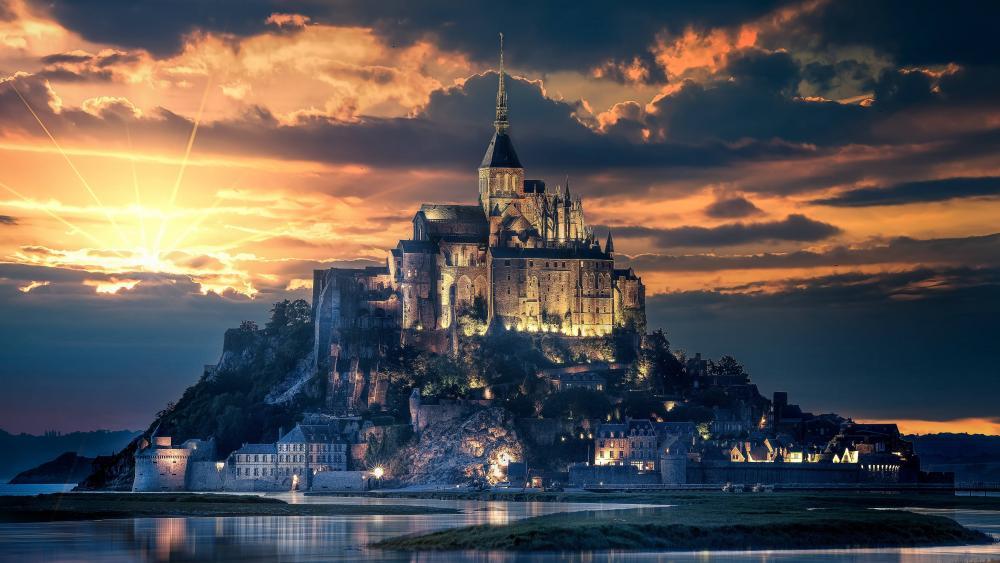 Mont Saint Michel wallpaper