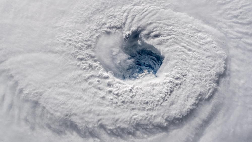 Staring Down Hurricane Florence wallpaper