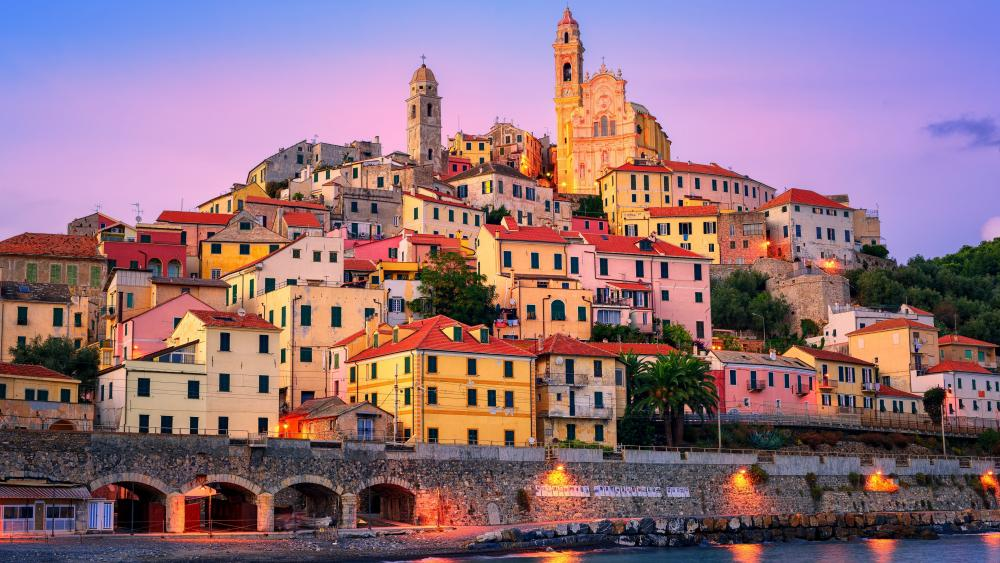 Cervo, Liguria wallpaper