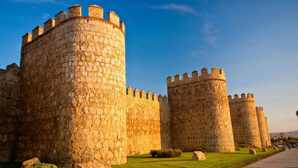 Muralla de Ávila (Walls of Avila) wallpaper