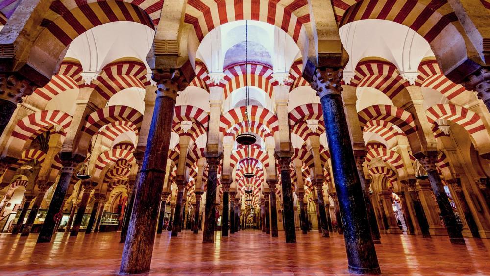 Mosque–Cathedral of Córdoba (Mezquita de Cordoba), Andalusia, Spain wallpaper