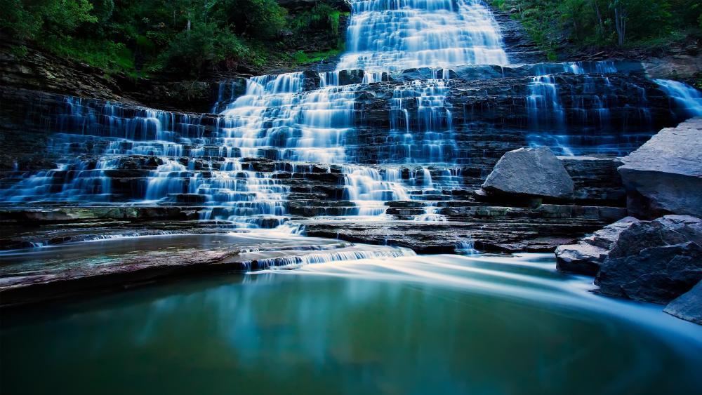Albion Falls (Canada) wallpaper