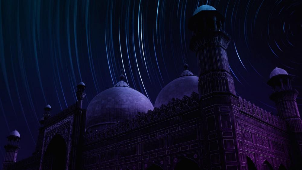 Badshahi Mosque wallpaper