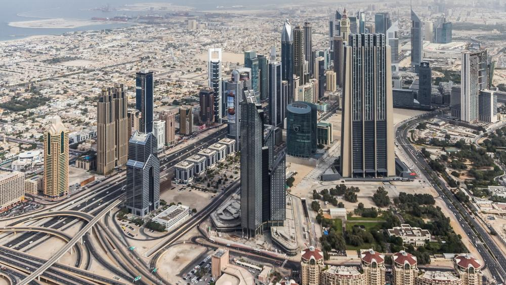 Downtown Dubai wallpaper