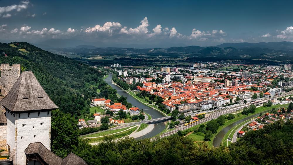 Celje (Slovenia) wallpaper