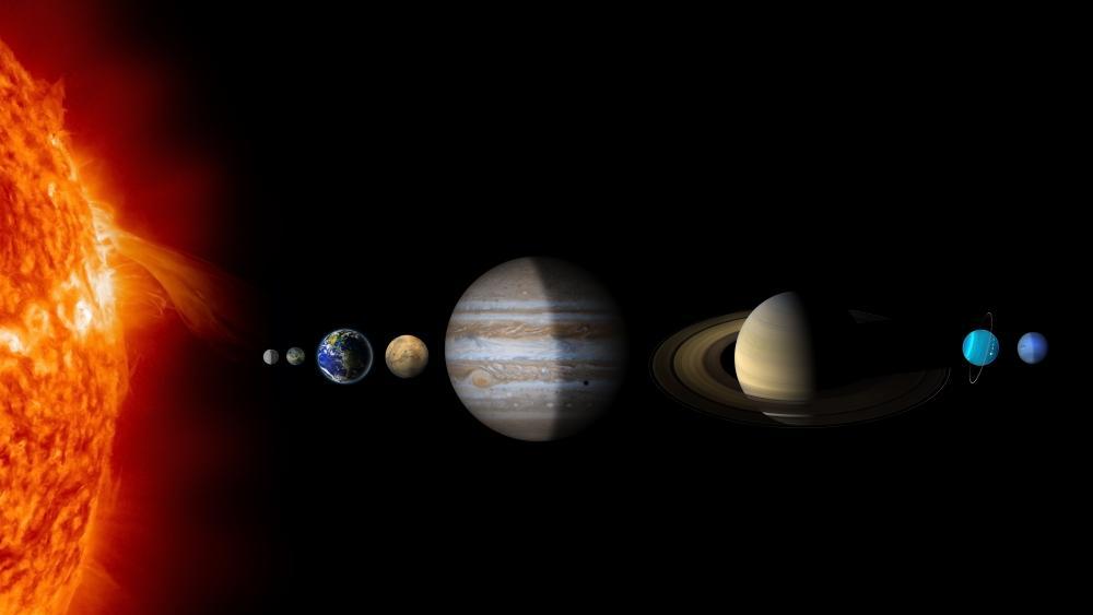 Solar System Planets wallpaper