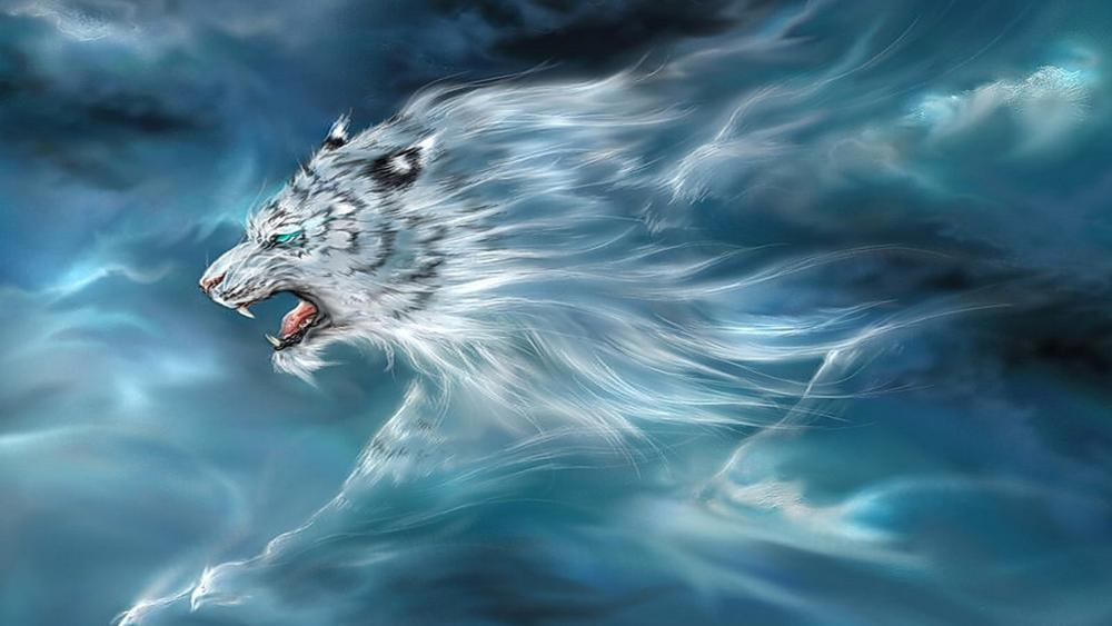 The spirit of tiger wallpaper