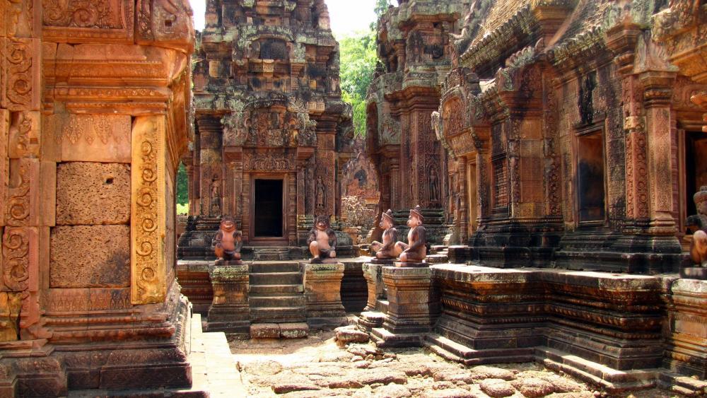 Banteay Srei (Cambodia) wallpaper