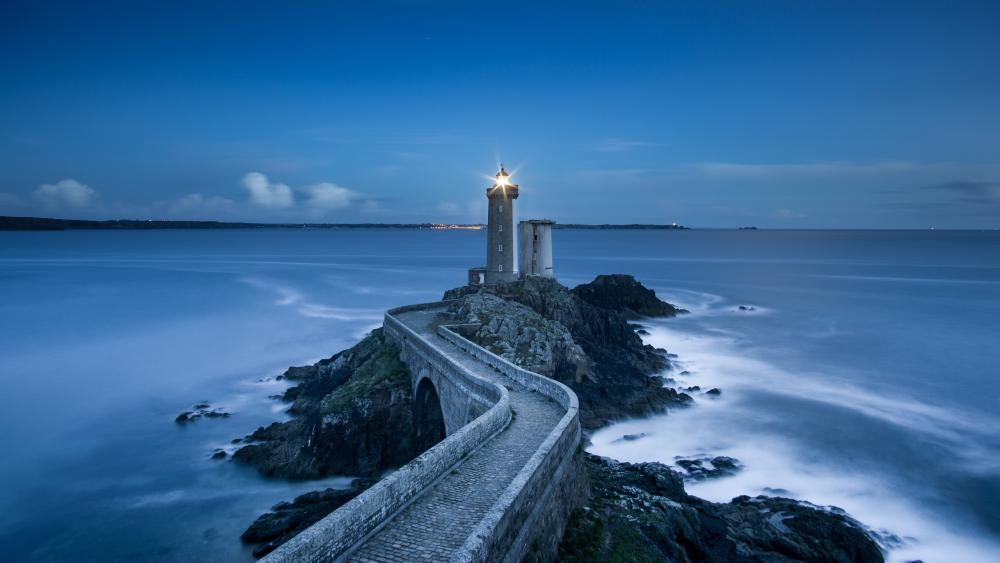 Phare du Petit Minou (France) wallpaper