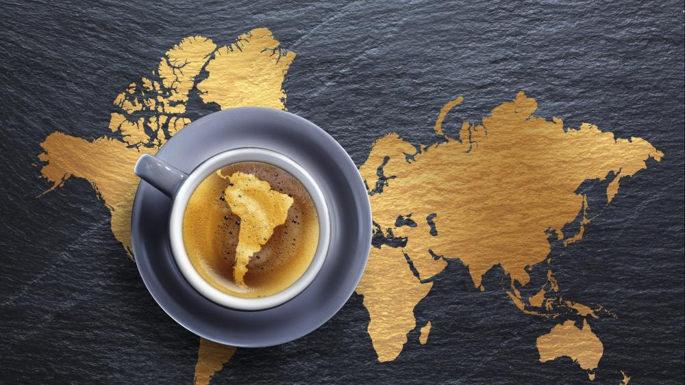 Coffee from South America wallpaper