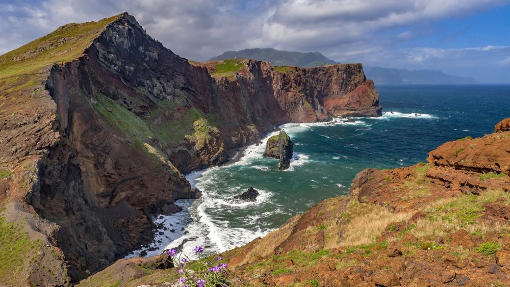 Madeira coastline wallpaper