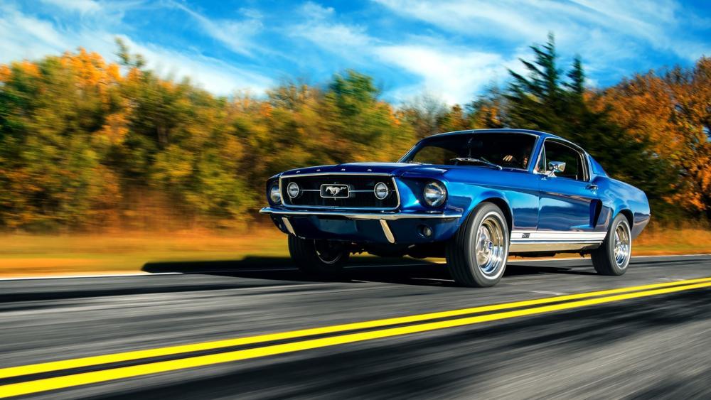 Ford Mustang Boss 429 wallpaper
