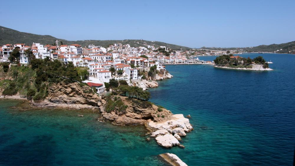 Skiathos (Greece) wallpaper