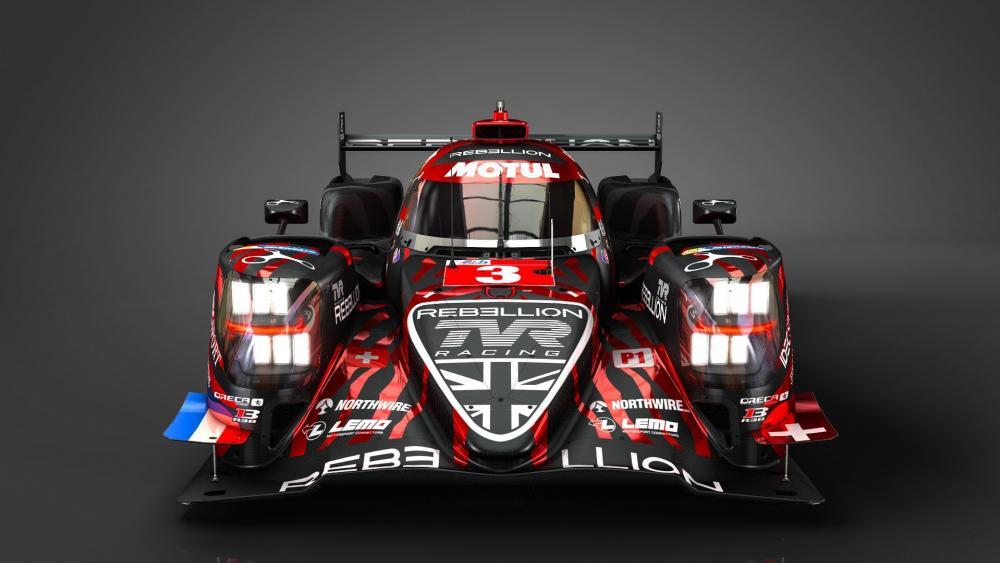 Le Mans Rebillion Racing car wallpaper