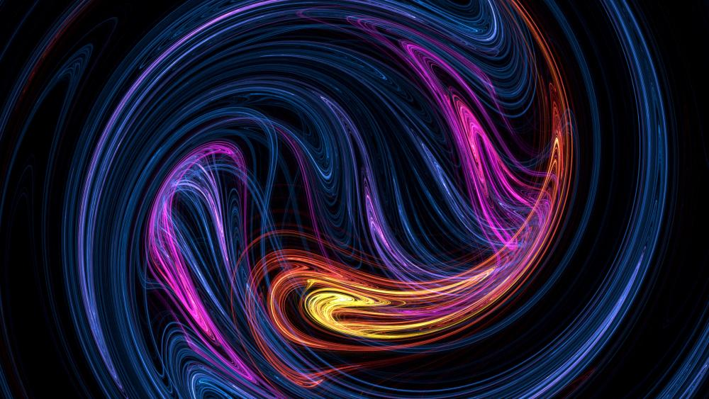 Vortex fractal wallpaper