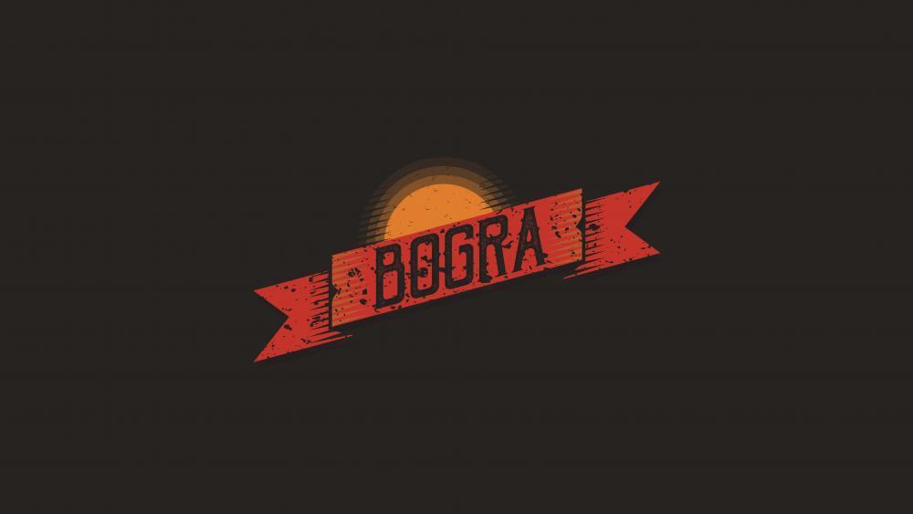 FLAT DISTRESSED RIBBON Grunge Retro Ribbon  (Bogra) wallpaper